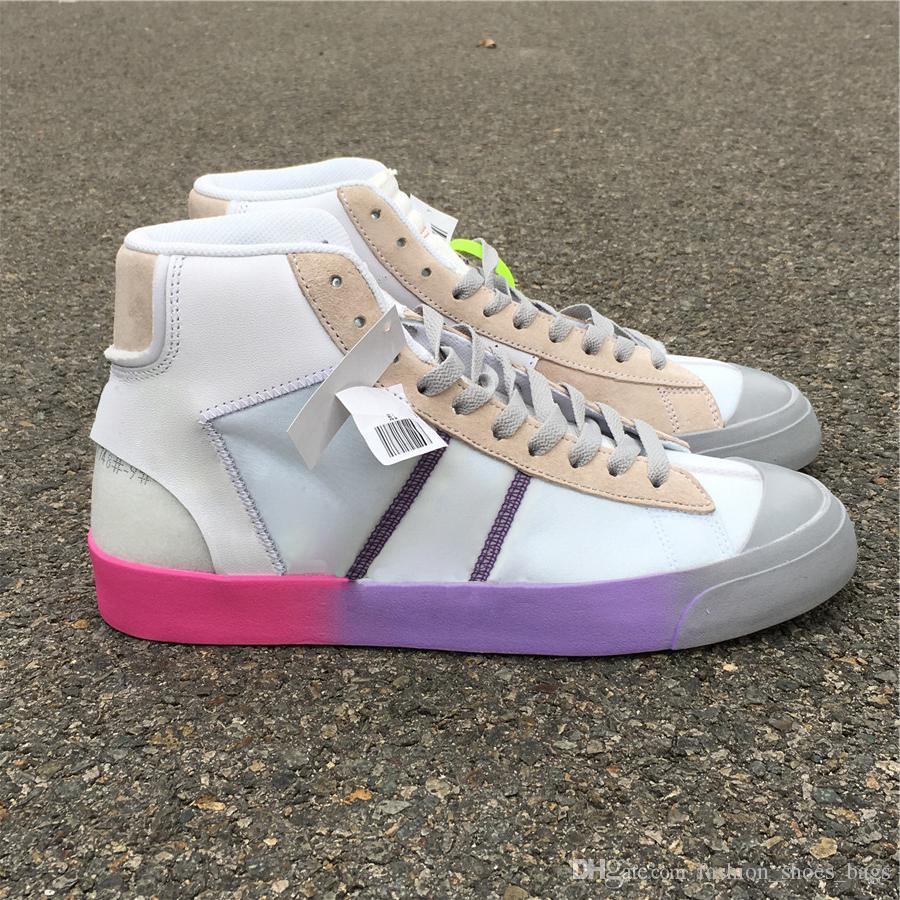 1cbf878a064 Off New High Rainbow Mid Big Queen Basketball Shoes Designer Mens ...