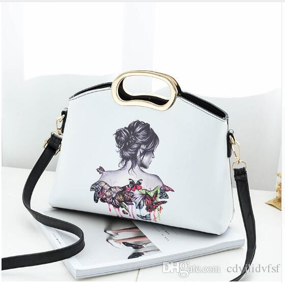b9e2493fc217 Famouse Designer Leather Bags Women Handbag Brand High Quality Ladies  Shoulder Bags Luxury Bag High Quality 2018 NEW Gifts Black Wholesale Purses  White ...