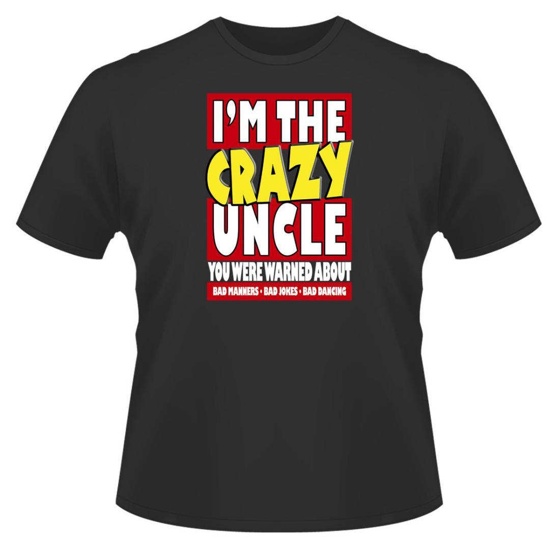 48f97ce9926 Mens Funny T-Shirt I M The Crazy Uncle Ideal Gift Or Birthday ...