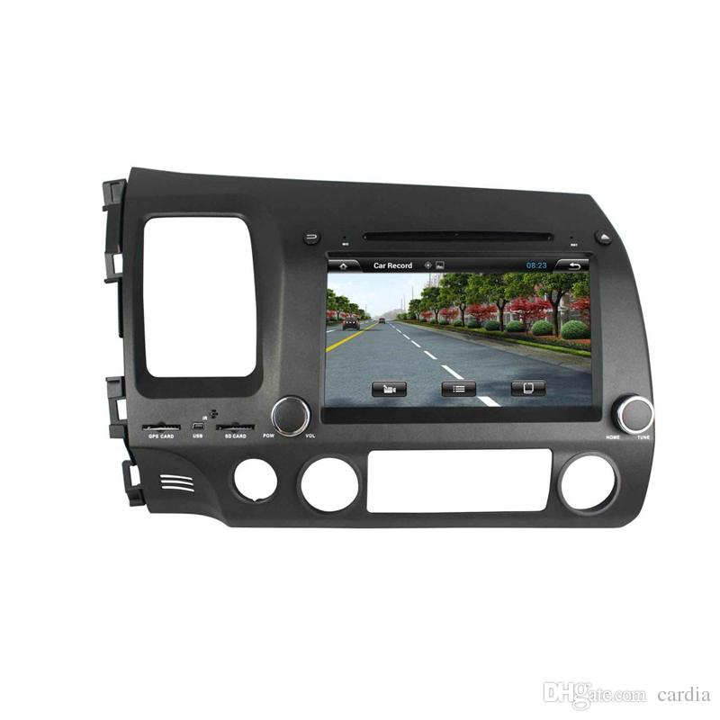 8inch Octa-core Andriod 8.0 Car DVD player for Honda CIVIC 2006-201 with 4GB RAM,GPS,Steering Wheel Control,Bluetooth,Radio