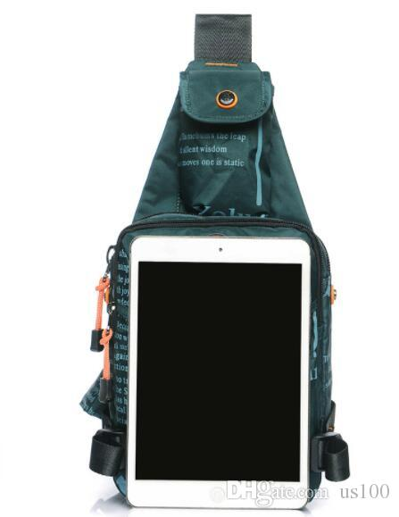 38c014571c 2018 New Men s Chest Bag Tide Messenger Bag Oxford Outdoor Leisure ...