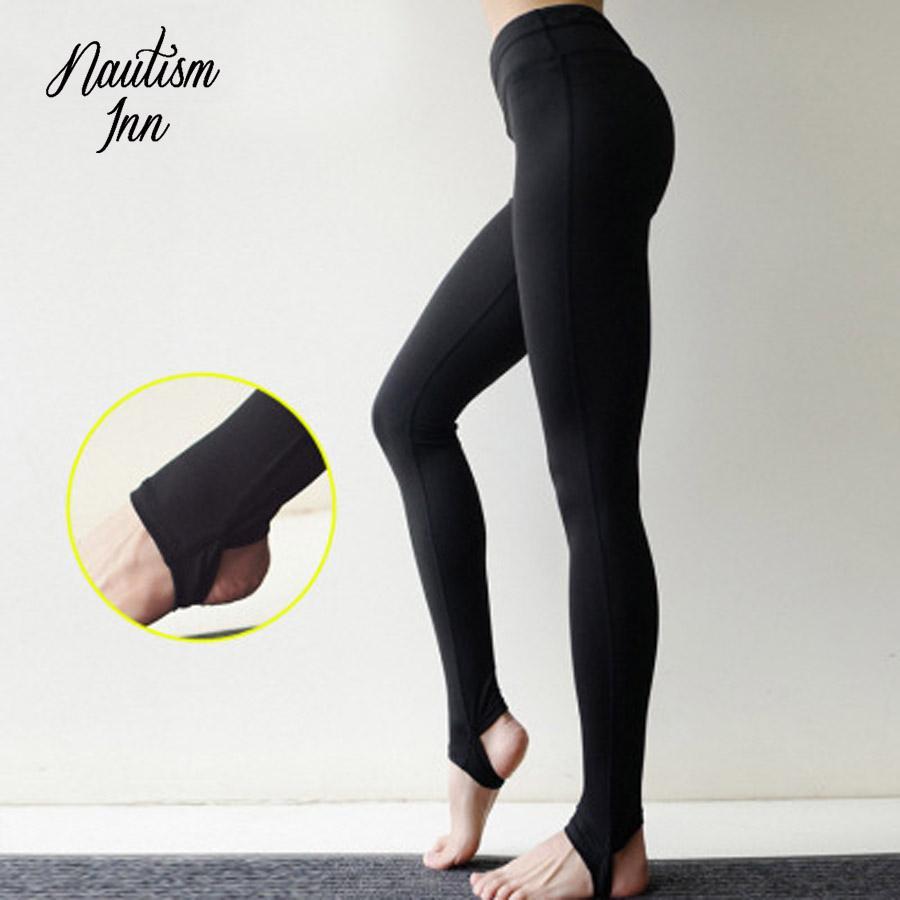 447194d9f5 Yoga Sport Pants Women Black Yoga Leggings for Fitness Clothing High ...