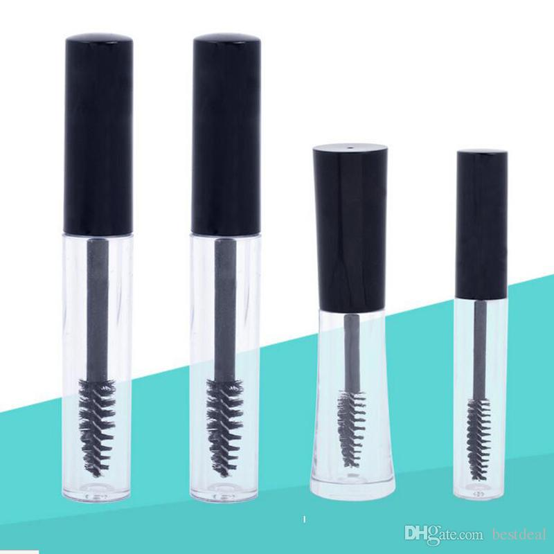 d67bfe42ebf 2019 1ml 2ml 3ml 10mL Pop Empty Black Eyelash Tube Mascara Cream Mascara  Tubes Container Vials With Eyelash Brush Plug Makeup Accessories From  Bestdeal, ...