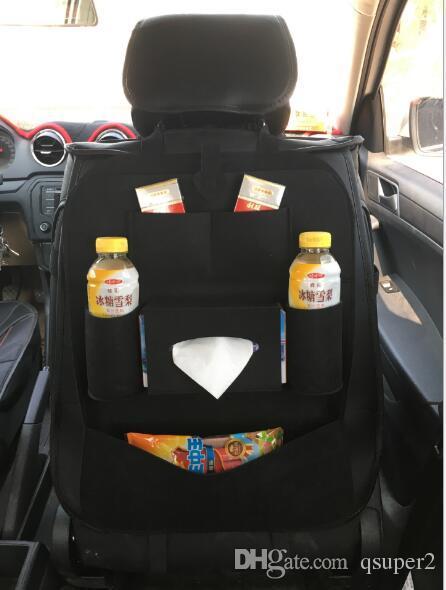 Новый универсальный 1 шт. авто спинки сиденья протектор крышка автомобиля интерьер дети удар мат хранения сумка аксессуары стайлинга автомобилей