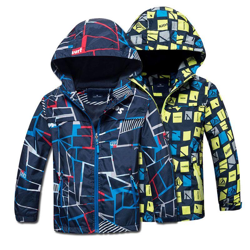bc64705e5d82 2018 Spring Autumn Polar Fleece Children Outerwear Warm Sporty Kids ...