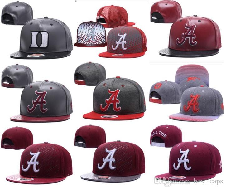 2019 Wholesale Alabama College Snapbacks Hat Hip Hop America Sports Hat  Fashion Outdoor Cap Customized Hats 10000+ Sytles Free Shiipping From  Best caps 1717bd32610