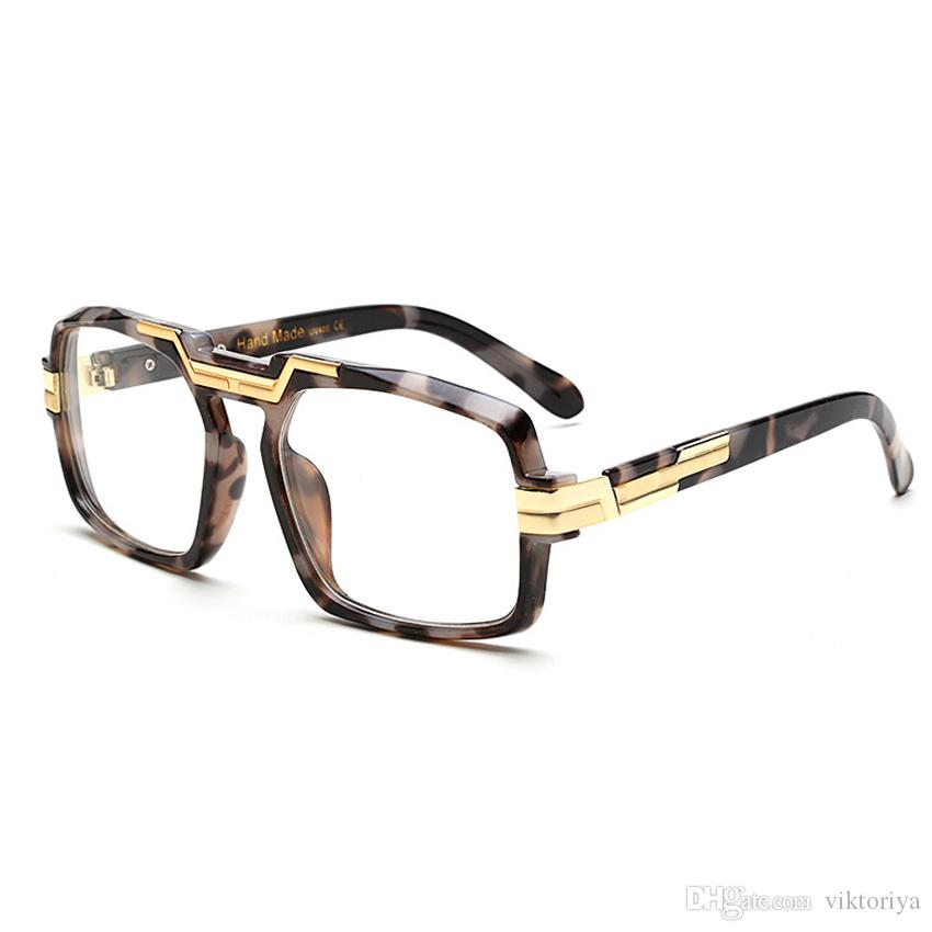 99d17d7aadb 2019 New Fashion Luxury Brand Spectacle Frame Black Rectangle High Quality  Eyeglass Frames Myopia Optical Glasses Clear Frame Women S9113 From  Viktoriya