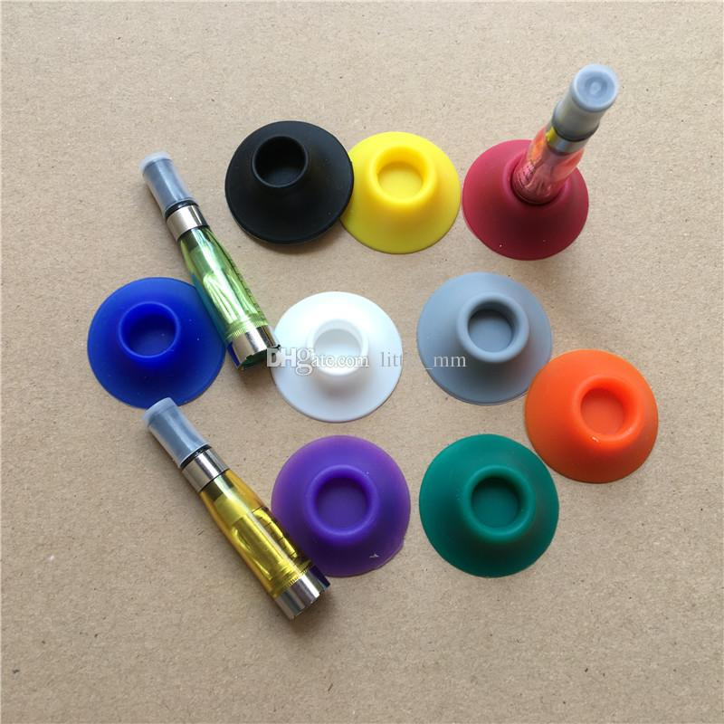 Ego Battery Dock Base tray Silicone Sucker Statio ego atomizer stand ego-t ego-k ego-q evod Ego-C twists Battery DHL
