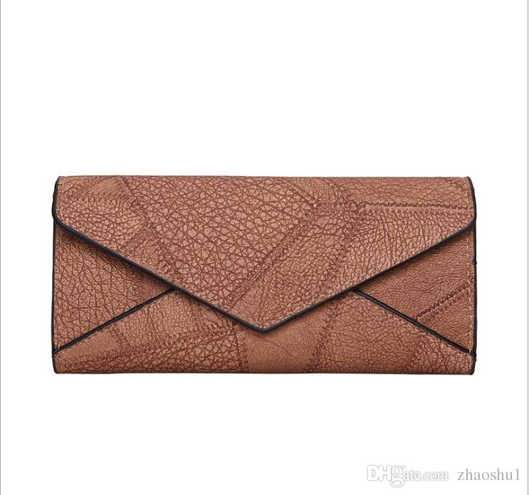 ee96bb6db5 Women Daily Use Clutches Handbag Quality Clutch Nubuck Leather Purse  Fashion Handbag Wallet Designer Wallets Famous Brand High Quality Cheap  Online with ...