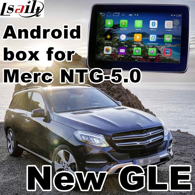 Android 6 0 GPS navigation box for Mercedes GLE W166 NTG 5 0 video  interface box mirror link ML youtube waze quad core