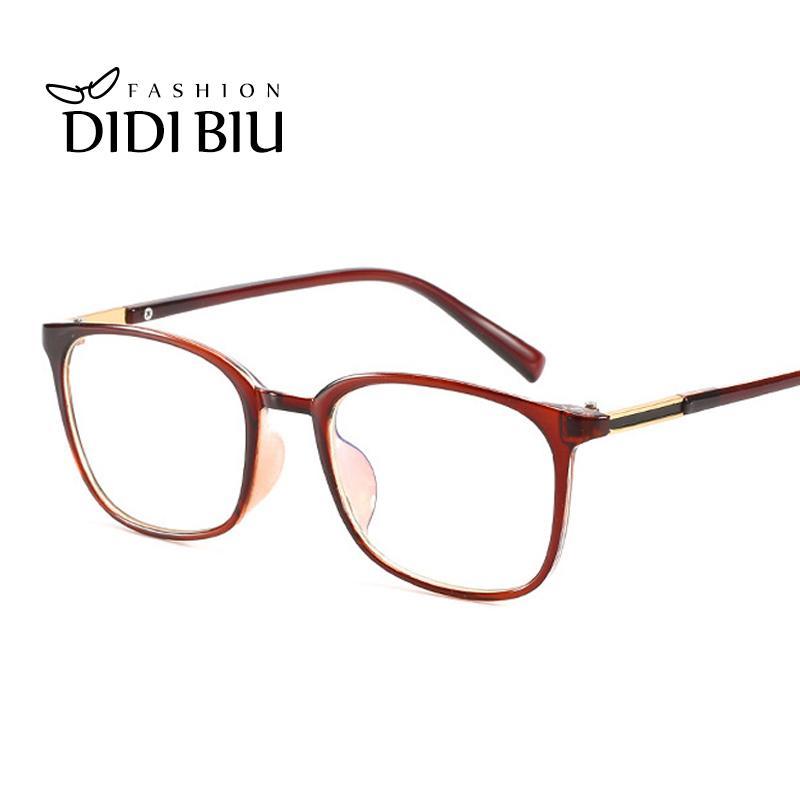 Anti Blue Light Classic V-shaped Box Eye Glasses Frames Brand For Men New Women Computer Frames Eyewear Vintage Oculos Bussiness Online Discount Men's Glasses Apparel Accessories
