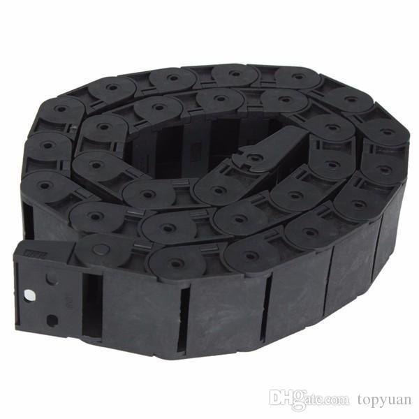 18mm x 37mm Açılabilir Plastik Kablo Drag Zincir 1 M Uzun Tel Taşıyıcı Sürükle Zinciri