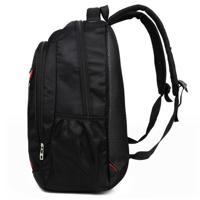 9d48d8913773 Cheap AFBC Casual Solid Color Material Oxford Man s Backpack Multi-functional  Large-capacity Student Schoolbag Simple Bag