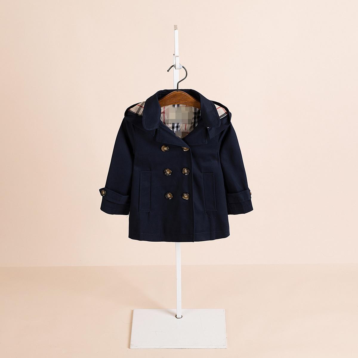 13f936797 2018 Autumn New Product Girl Windbreaker Loose Coat Short Paragraph ...