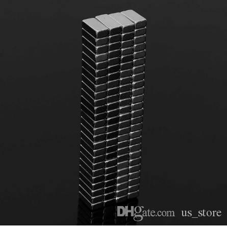 100Pcs 10 x 3 x 5mm N50 Strong Block Magnets NdFeB Neodymium Rare Earth Permenent Magnets 10mm*3mm*5mm Magnet Hot Sale