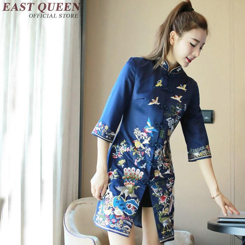 abiti,cinesi,orientali,vestito,cinese,qipao