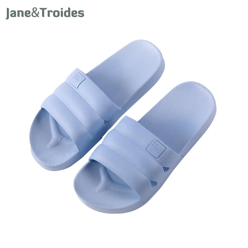 7d428bbcbb01 Summer Home PVC Women Slippers Open Toe Bath Shower Anti Slip Indoor ...