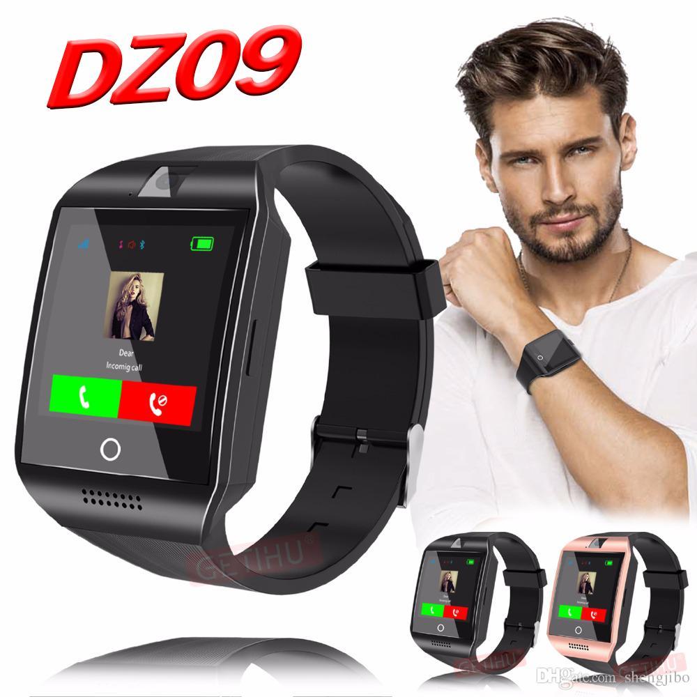 6d92403303e Compre Dz09 Smart Watch Smartwatch Bluetooth Digital Esporte Relógio De Pulso  Cartão Sim Telefone Com Câmera Para Iphone Android Samsung De Shengjibo