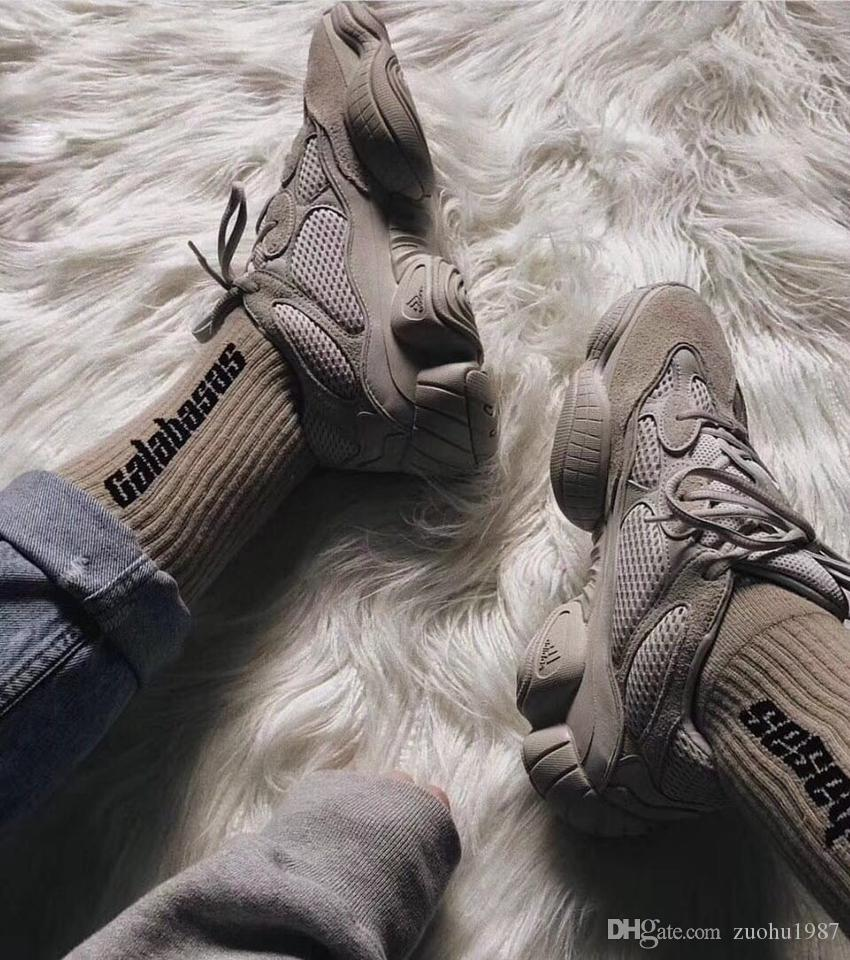 Calabasas Crew Socks Cotton Season 5 Kanye West Men Women Socks Casual Stockings Skateboard Stockings Football Sosk Hight Quality
