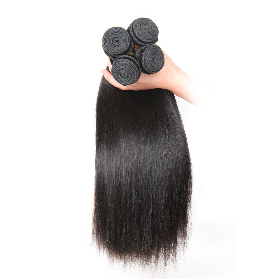 brazilian Peruvian Mongolian Malaysian Indian Combodian Remy Human straight Hair Bundles Top Quality Hair Extensions