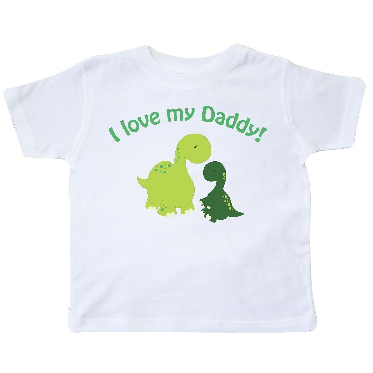 e4859485 Inktastic I Love My Daddy Dinosaurs Toddler T Shirt Dinosaur Fathers Day  Dad Kid Funny Unisex Casual Tee Gift Online Buy T Shirts Tna Shirts From  Tee_spirit ...