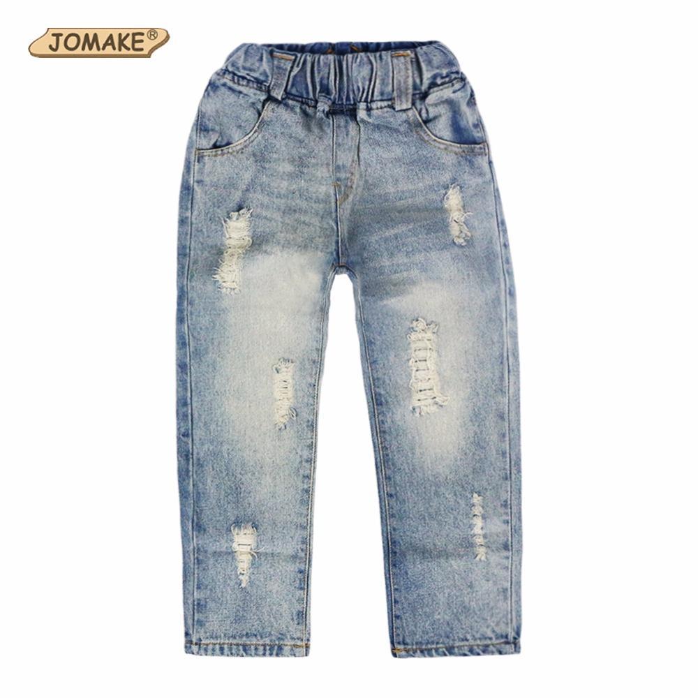 Compre JOMAKE 2018 New Girls Jeans Ropa Para Niños Ropa Para Niños ...
