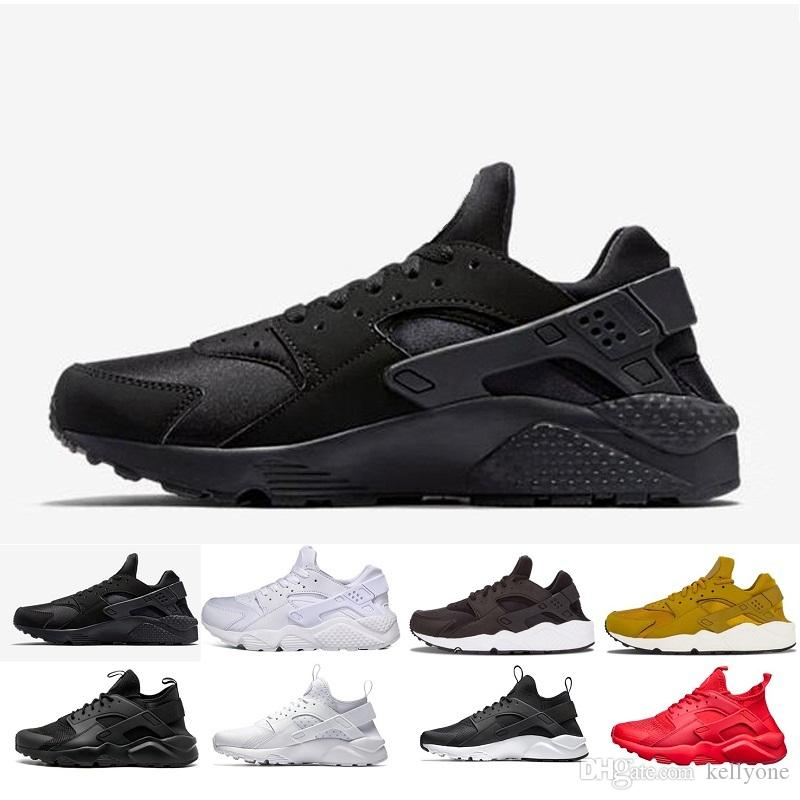 Hot Sale Huarache Running Shoes For Men Women Rose Gold High Quality  Sneakers Triple Huaraches Trainers Sport Shoes Athletic Shoes Shoes For Men  From ... 29b81a8b821d