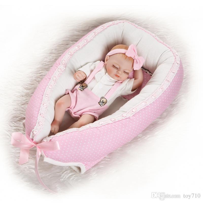 10 Full Body Soft Vinyl Newborn Baby Doll Realistic Reborn Dolls Boy Girl Lifelike Twins Silicone For Girls Gotz Free