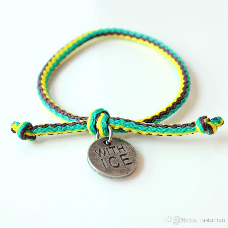 Tide-Stil Liebhaber Armband, Herren und Frauen Baumwolle gestrickt, Handseile, koreanischen Handkreis