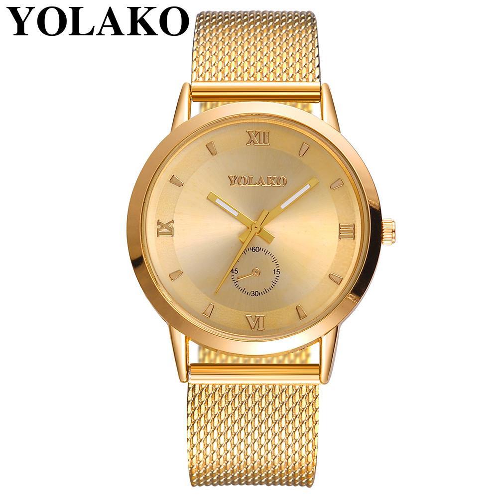 Großhandel Yolako Uhren Frauen Top Marken Luxus Beiläufige Uhr Damen