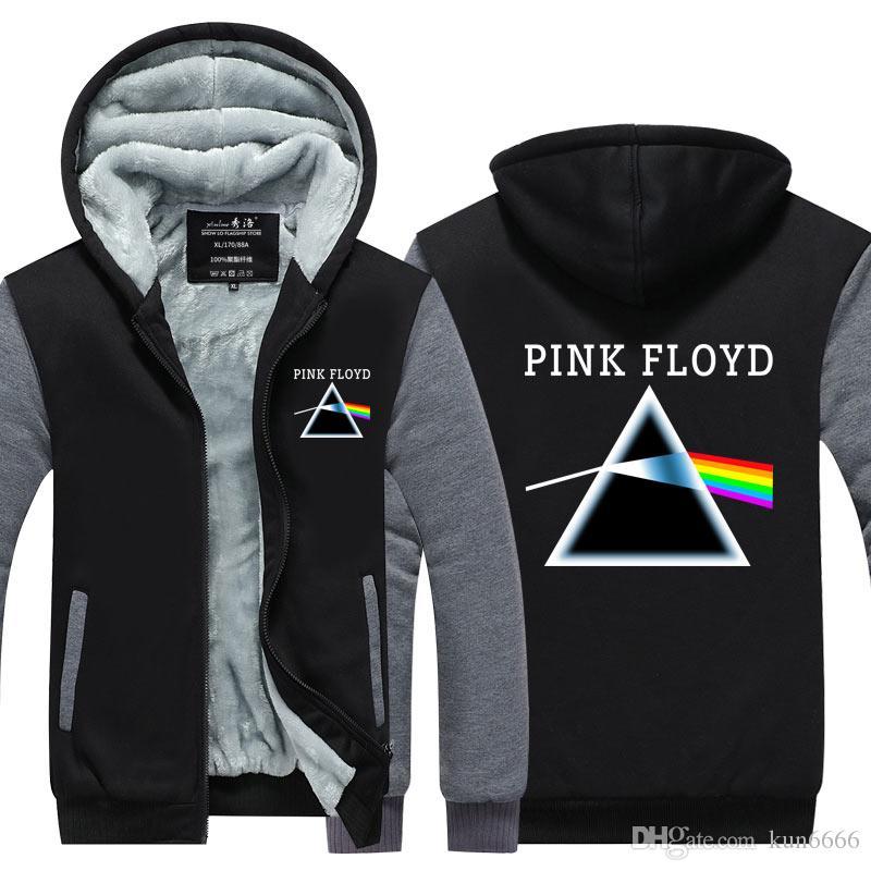 754b4898c38 2019 Pink Floyd Sweatshirt Zipper Jacket 2018 Spring Winter Men Jacket  Fashion Hoodies Men Cardigan Coat US EU Size Plus Size From Kun6666