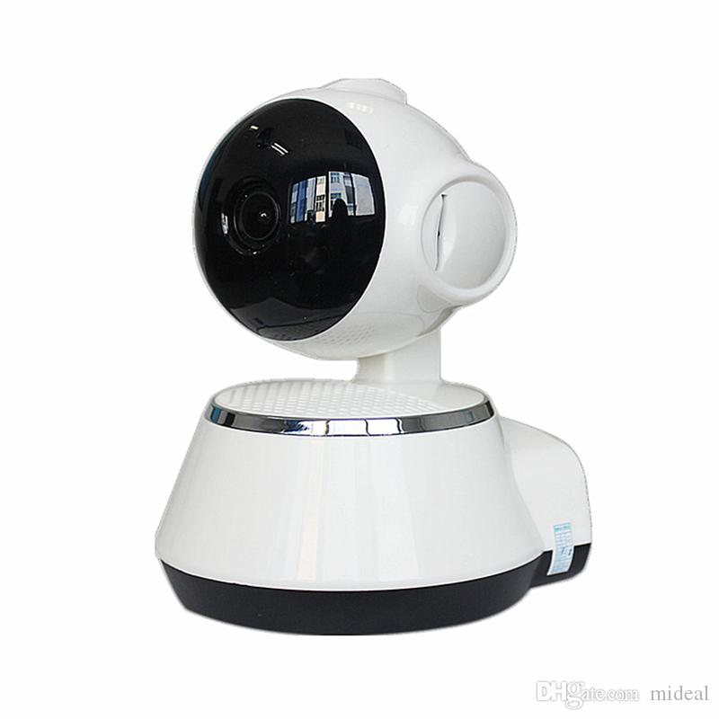 V380 HD 720P Cámara IP WiFi Cámara de Seguridad Inteligente Inalámbrica Micro SD Red Giratorio Defender Inicio Telecam HD CCTV IOS PC