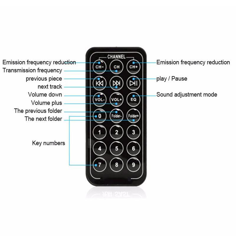 Araba FM BT66 Verici Bluetooth Hands-Free LCD MP3 Çalar Radyo Adaptörü Kiti Şarj Perakende paketi ile Akıllı Cep telefonu OTH755