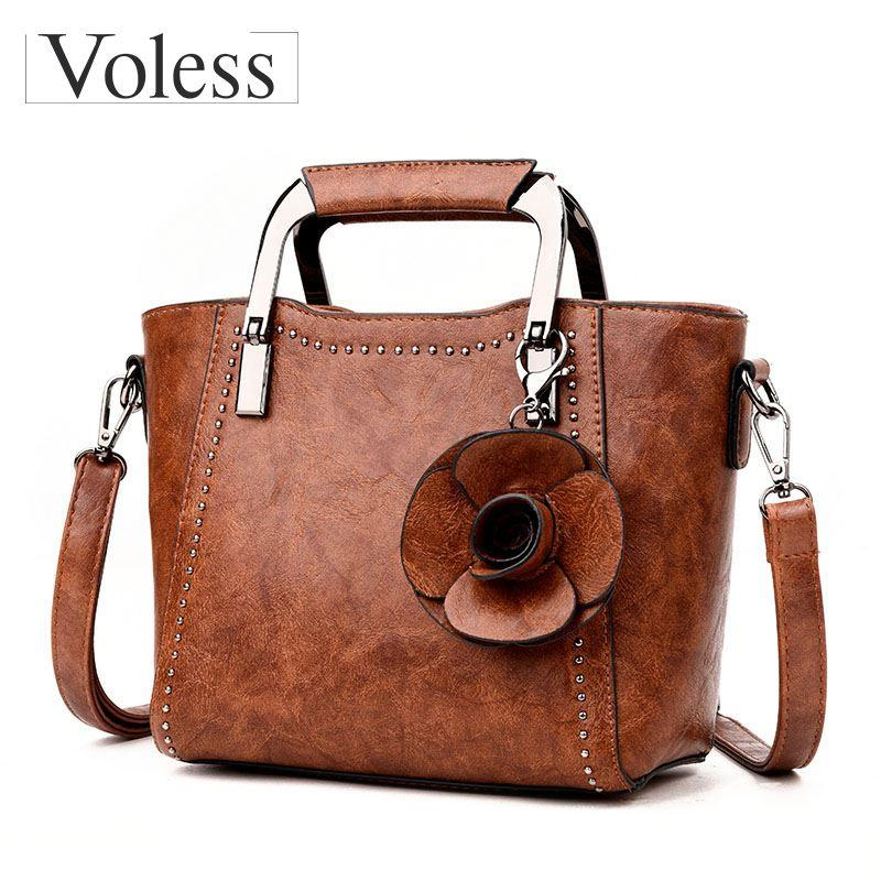 31fd8c6b510e Luxury Designer Flower Crossbody Bags For Women Leather Handbags Fashion Female  Tote Bag Women Messenger Bags Sac A Main Purses For Women Bags For Sale  From ...