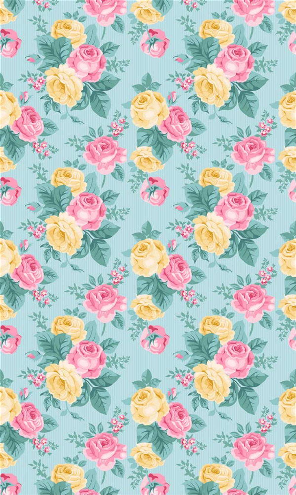 2019 Digital Printing Pink Yellow Roses Damask Photo Shoot ...