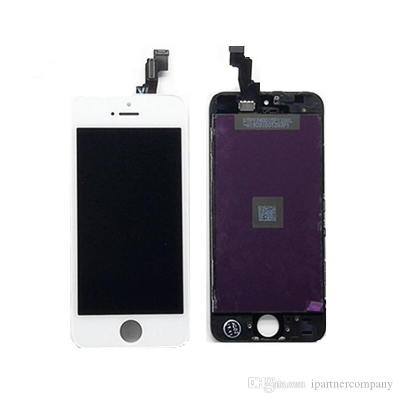 For iPhone 5 5C 5S lcd screen display touch Screen Replacement Digitizer Assembly no dead pixel Touch Screen Digitizer bulk sell