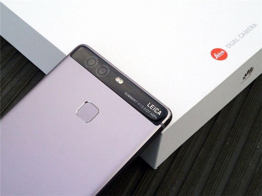 Remanié d'origine Huawei P9 4G LTE 5,2 pouces Octa Core 3 Go / 4 Go de RAM 32 Go / 64 Go ROM 12MP Appareil photo Dual SIM Cellulaire Android Mobile Free DHL
