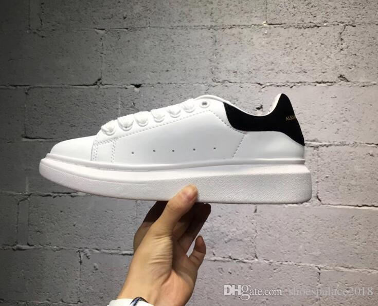 Barato En Oferta Zapatos Deportivos Para Mujer Para Hombre Zapatos de Plataforma de Plataforma de Lujo Zapatos Casuales Señora Negro Rosa Oro Correr Tenis Confort 35-43