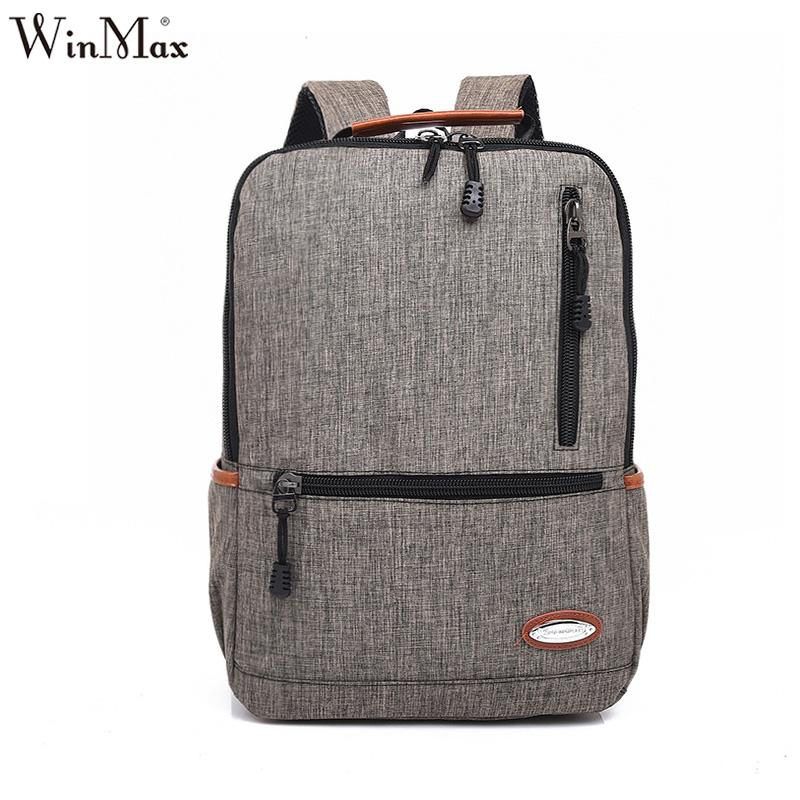 3ae2cd0038 2016 Hot Sale Men Male Canvas College School Student Backpack Casual  Rucksacks Travel Bag Men S Computer Bag Large Capacity Dakine Backpacks  Back Pack From ...