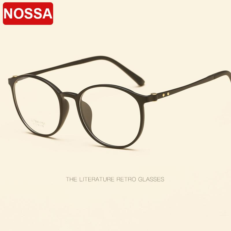 181f849f6b7 Round Retro Glasses Frame High-grade Tungsten Titanium Plastic Steel ...