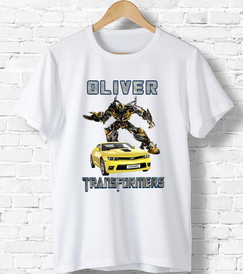 Compre Camiseta Personalizada Transformers Camiseta De Regalo De Cumpleaños  Infantil Para Niños DE2 Cool Casual Pride T Shirt Hombres Unisex A  10.66  Del ... 4ef690b520136
