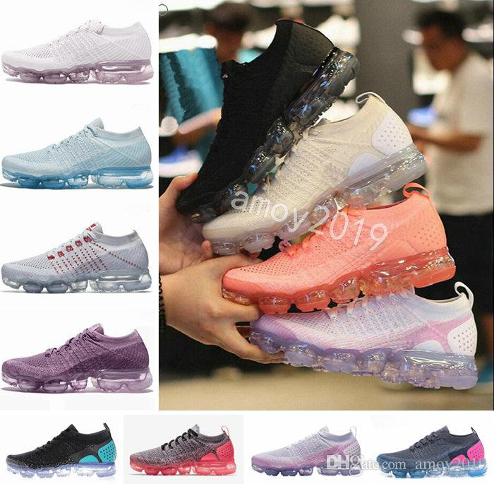 competitive price 795ad 32456 2018 Chaussures 2.0 Plus TN Women Running Shoes Air Fashion Athletic Sports  2 White Black Pink Outdoor Maxes Womens Trainers Sports Sneakers Running  Shoes ...