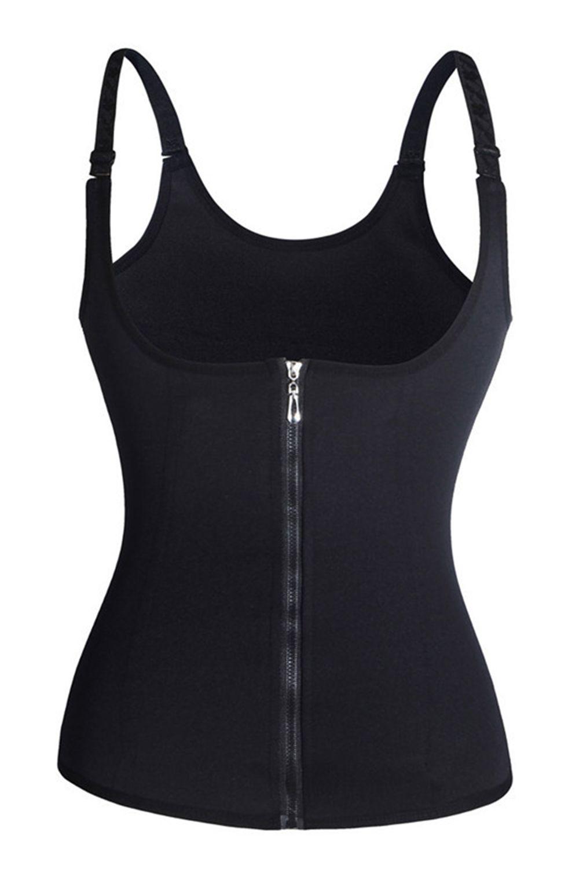 Venta caliente Negro Mujeres Body Shapers Tummyhaper Entrenamiento de la cintura sin costura Entrenador Entrenamiento Corsé S-3XL CPA1352