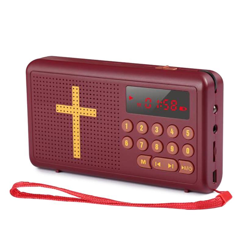 Unterhaltungselektronik Cassette & Spieler Fornorm Tragbare Audio-player Digital Lcd Fm Radio Stereo Audio Lautsprecher Usb Tf Mp3 Musik Audio-player Produkte HeißEr Verkauf