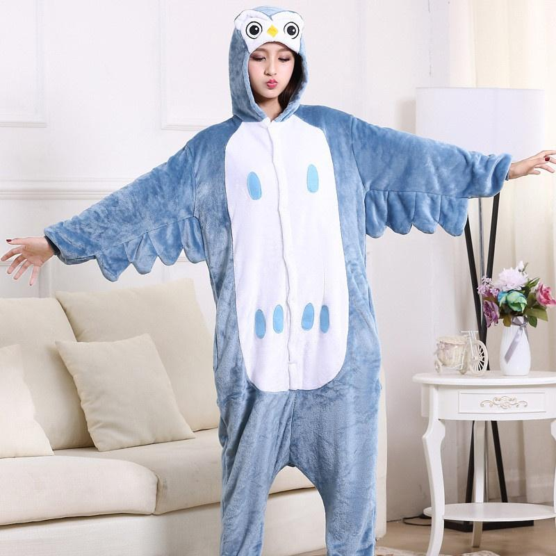 2277dcc79e01 2019 Women Animal Onesie Pajamas Mouse Sheep Zodiac Chicken Dog Lion Rabbit  Cosplay Pajamas For Women Lady Sleepwear From Max4075