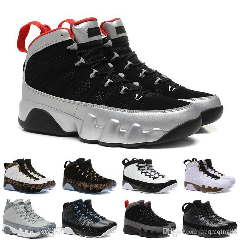 784421889b88f5 2018 9 9s Men Basketball Shoes LA Bred OG Space Jam Tour Yellow PE  Anthracite The Spirit Johnny Kilroy Sports Trainers Sneakers Best Basketball  Shoes Womens ...