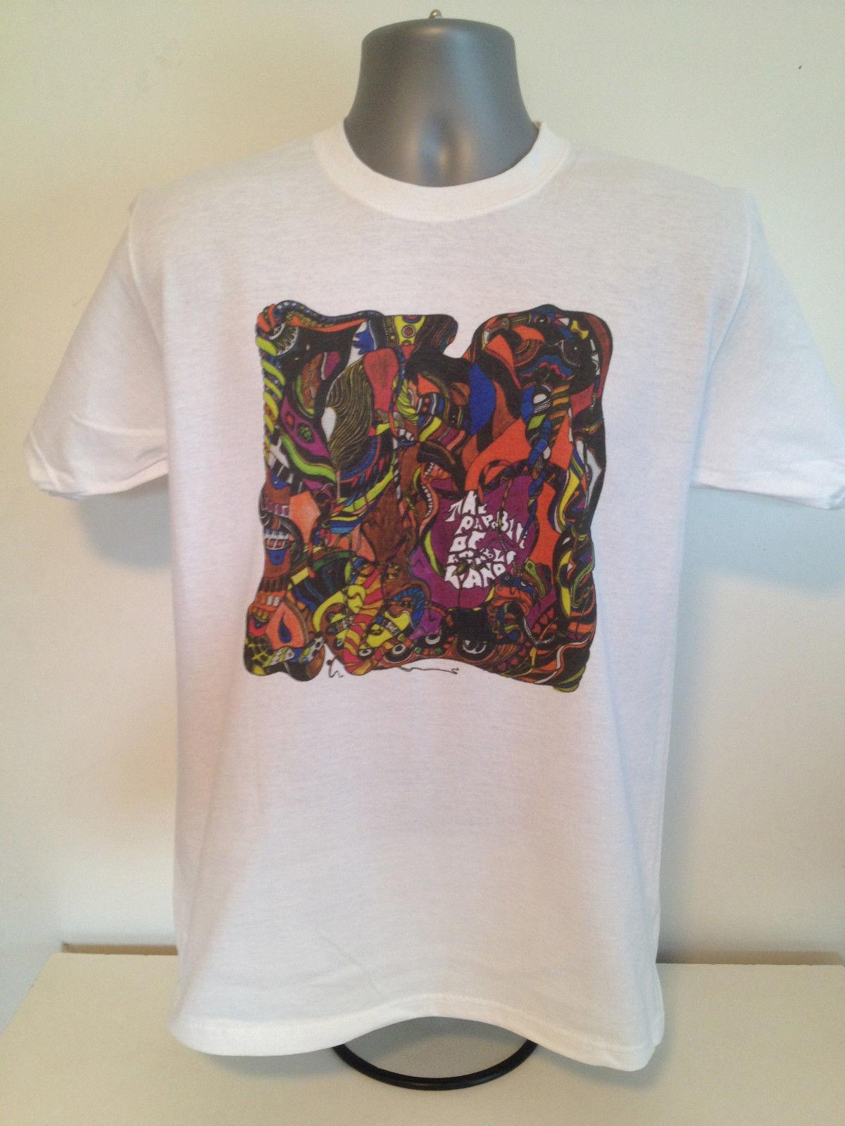 T-SHIRT ROSSO KRAYOLA - Red Crayola, Psychedlia, Parable Arable Land