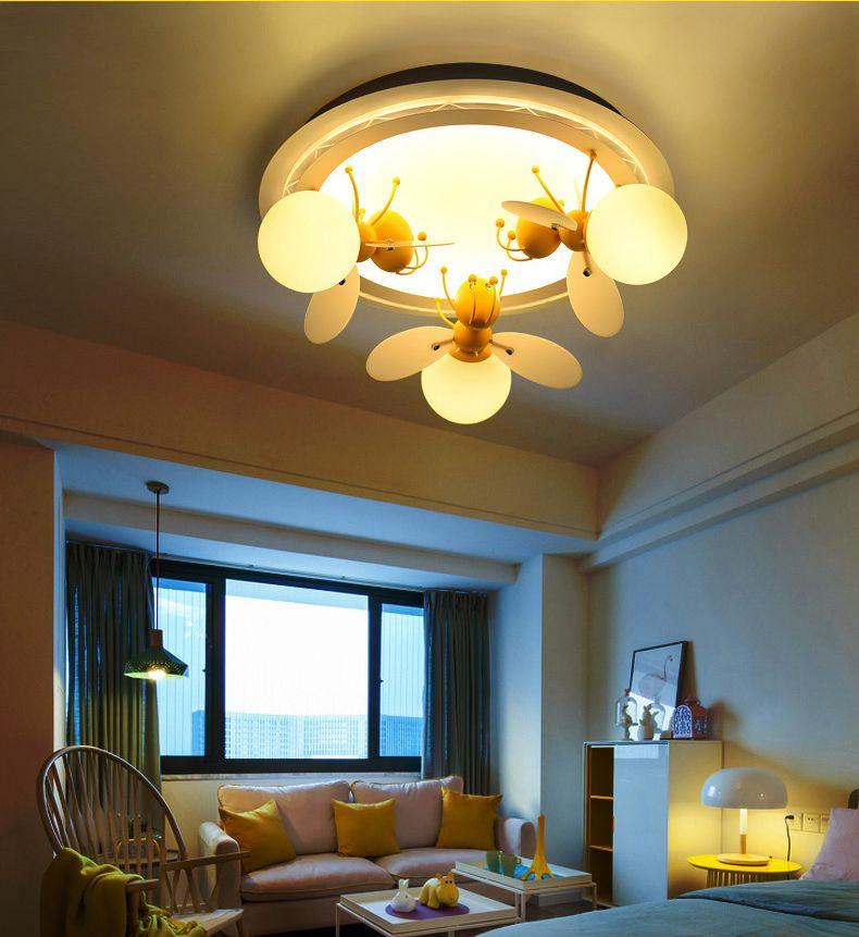 Großhandel Kinder Lampe Schlafzimmer Führte Deckenleuchte Kreative ...