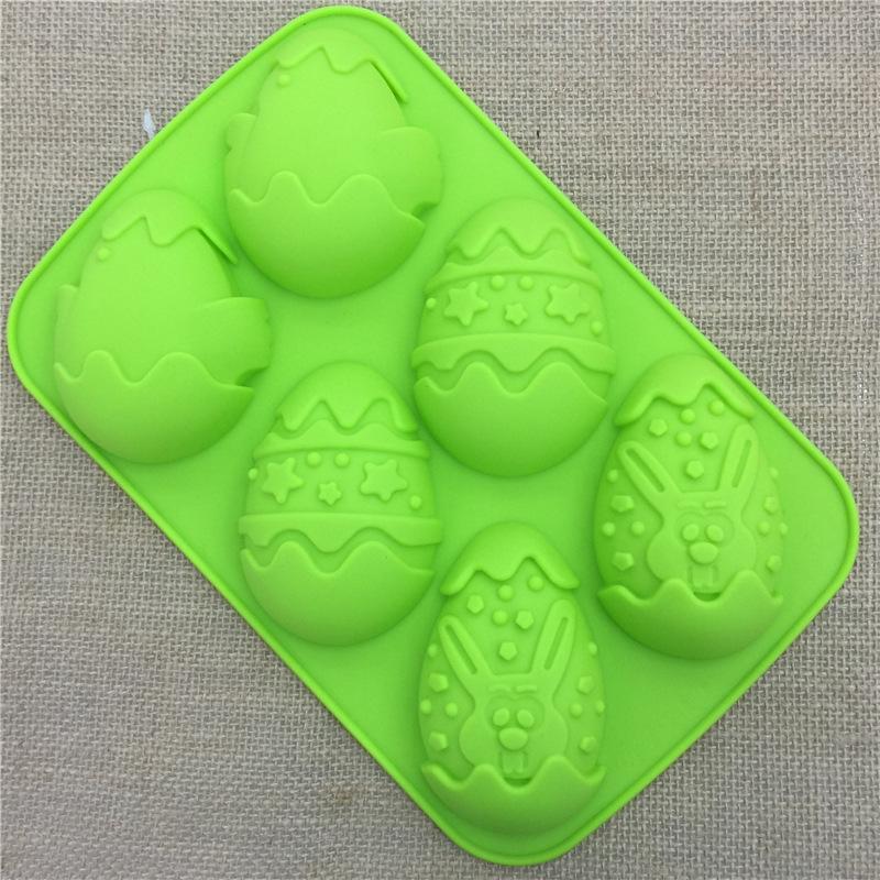 DIY силиконовые формы пасхальное яйцо восстановления мыло торт шоколадное желе льда прессформы 3D инструменты выпечки торта на пасху