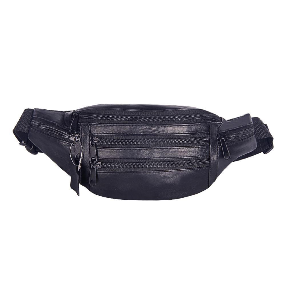 6526f40d037 Fashion Design Men PU Leather Waist Bag Multifunction Belt Bag Soft Surface  Fanny Packs Fashion Travel Belt Wallets Bags For Women Waist Pack From  Carryleft ...